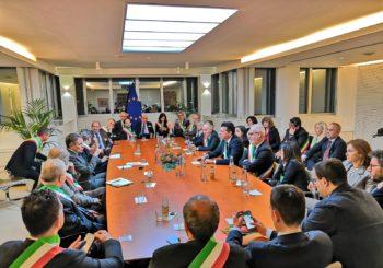 Il Presidente Romano e il Sindaco Mangialardi a Bruxelles per la riunione plenaria del Comitato delle Regioni