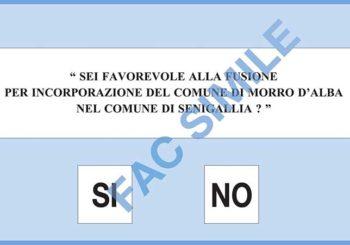 23 ottobre: referendum per la fusione Senigallia-Morro D'alba: si vota dalle 7 alle 23